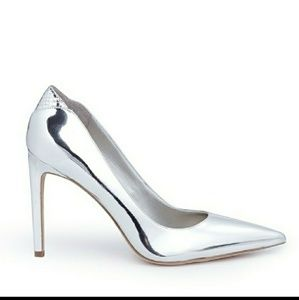 Sam Edelman Silver Metallic Dea Pumps